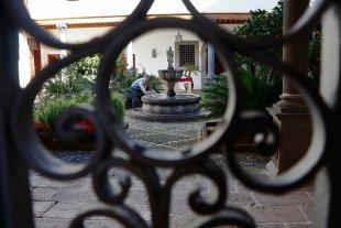 Stadtbesichtigung La Laguna, Innenhof von HansIN