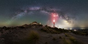 Monte Toro Milchstraße von Mario Konang - Lightrecords