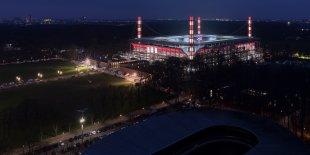 RheinEnergieStadion - 1. FC Köln – Rheinisches Derby 2018 II von Dieter Golland