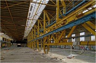 Marode Welten – Stahlbau 03 von pewebe