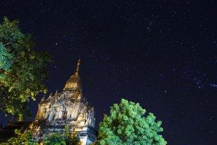 Gawdawpalin-Tempel bei Stomausfall (Bagan, Myanmar) von Volker H.