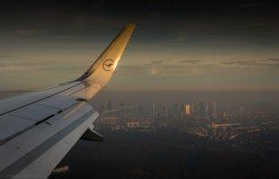 Über Frankfurt am Morgen von sgnde