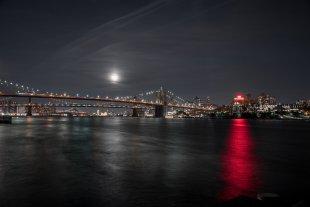 New York @ night von robinio