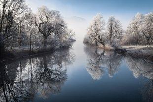 Winterliche Loisach von Tarcitaxx