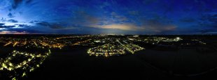 Berlin light pollution von F0rt1s