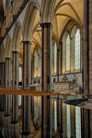Salisbury Cathedral von Majestix