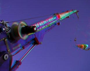 Teleskopkran von 3DDD