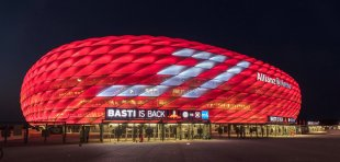 Allianz Arena München von Groessi