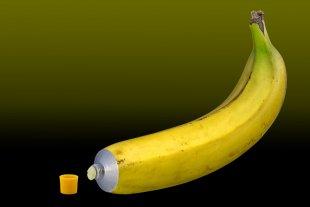 Banane aus der Tube ...Made in Germany von leverkusen
