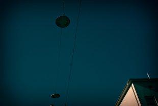 UFOs über Darmstadt 1 von Bernd Unger
