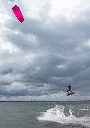 Kitesurfer von biba36