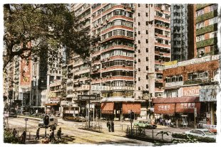 Streets of Kowloon von Martin Kristiansen