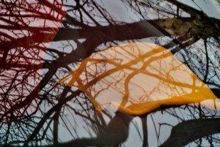 Herbstspiegelung von H.-Dieter Fischer