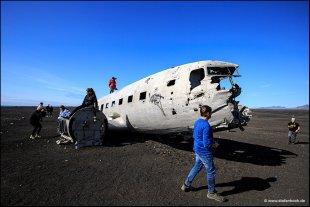 Der Beweis: So schlimm sieht es am geheimen Island Flugzeugwrack von Stefan Bock