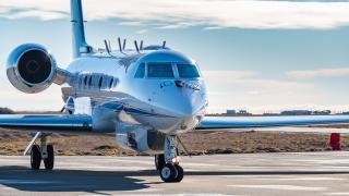 HALO-Forschungsflugzeug