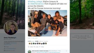 Greta Thunberg: Mit dem Segelboot zur Weltklimakonferenz nach Madrid