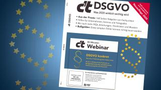 Sonderheft c't DSGVO - Was  2020 wirklich wichtig ist