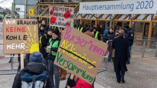 """Siemens-Chef sieht in Klima-Protesten ein """"Geschäftsmodell Aktivismus"""""""