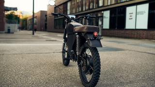 BlackTea - der elektrische Moped-Scrambler aus München