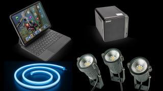 Kurztest: Netzwerkspecher, Tastatur und smarte Gartenlichter