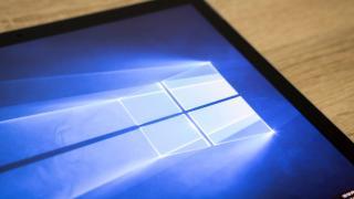 Windows am Bildschirm