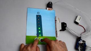 PaperPulse – Ausgedruckte Schaltkreise machen Papier interaktiv