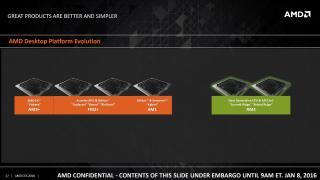 CES 2016: AMD kündigt einheitlichen CPU-Sockel für Desktops an