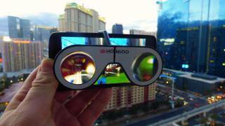CES 2016: Smartphone-VR-Halterung Homido Mini ausprobiert