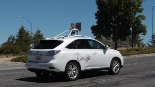 Google will seine autonomen Autos auch im Regen testen