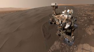 Mars-Rover Curiosity: 360-Grad-Blick des Roten Planeten