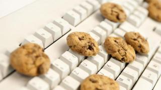 Cookies auf Tastatur