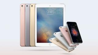 "iPhone SE und iPad Pro 9,7"""