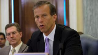 John Thune - Vorsitzender des für das Internet zuständigen US-Senatsauschusses