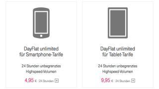 Echte Mobil-Tagesflatrate bei der Telekom
