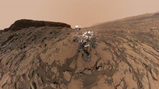 NASA-Rover Curiosity: Neues Selfie zur zweiten Missionsverlängerung