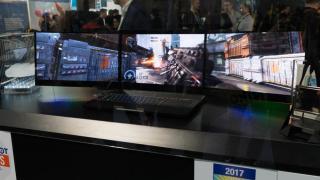 Razer zeigt Notebook mit drei Bildschirmen