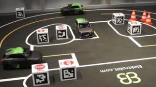 Selbstfahrende Modellautos im autonomen Miniaturwunderland