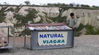 """Verkaufsstand """"Natural Viagra"""""""