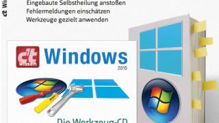 """Jetzt im Handel: """"c't wissen Windows [--] Das Reparier-Handbuch"""""""