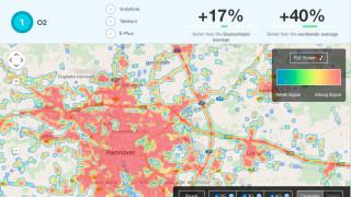 LTE-Abdeckung in Deutscjhland