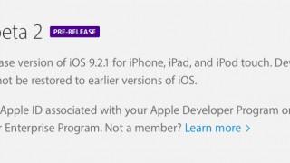 Zweite Beta von iOS 9.2.1