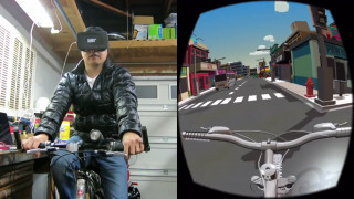 Für 40 Dollar mit dem eigenen Rad in die Virtual Reality