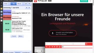 Rasches Update für Vivaldi-Browser