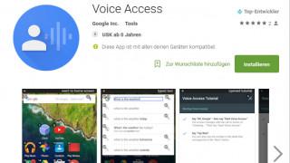 Google Voice Access ermöglicht Sprachsteuerung für grundlegende Bedienschritte