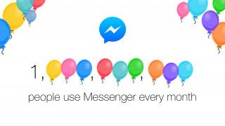 Facebook Messenger hat eine Milliarde Nutzer
