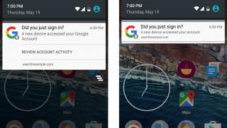 Android benachrichtigt Nutzer beim Hinzugügen neuer Geräte