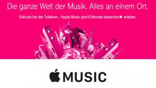 Apple Music bei der Telekom