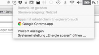 Chrome für Mac