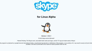Erste Videoanrufe mit Skype for Linux