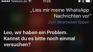 Siri WhatsApp